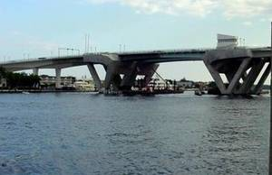 17th is the only bridge in the ICW before the New River.  It is 55 feet high and opens.