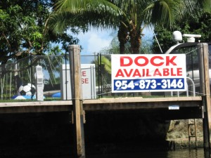 The Citrus Isles have great dockage.