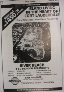 With four buildings completed, Godfrey advertised $450 per month rent in River Reach.