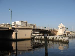 Commerical Boulevard, the northmost bridge on the Fort Lauderdale ICW