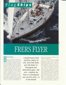 Review - Frers Flyer