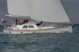 Hylas 66 Under Sail