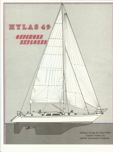 PDF Hylas 49 Offshore Explorer Brochure (Click to Download)