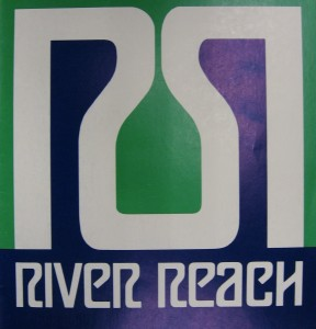 "River Reach Logo - ""A Private Island Community"""
