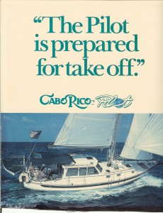 Cabo Rico 38 Pilot Brochure