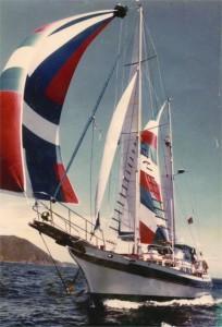 CT 54 Under Sail