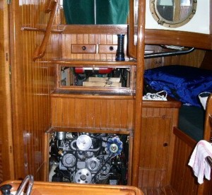 Lord Nelson Engine Access