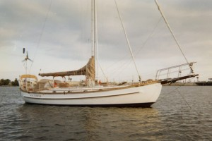 Lord Nelson 41 Cutter Sailboat