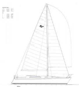 Farr 1220 Sail Plan