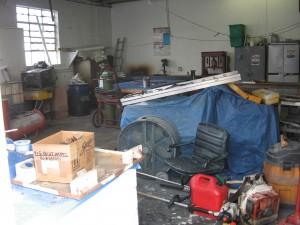 Boat Yard Workroom