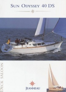 Jeanneau Sun Odyssey 40ds Review Panoramic View Waves Jordan